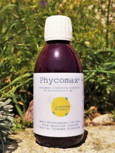 Flacon de Phycomax - Phycocyanine concentrée